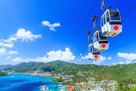 Sky Ride to Paradise Point njcharters.com