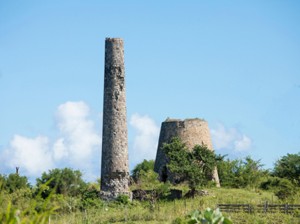 Ruins on St. Kitts