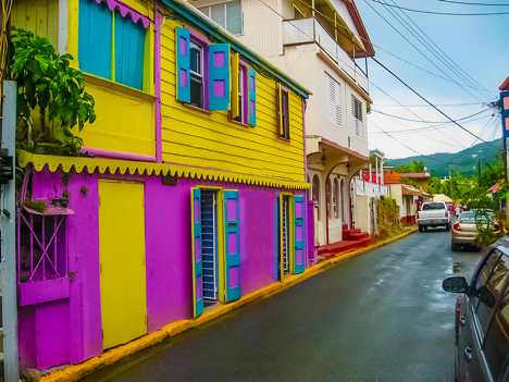 Tortola Roadtown Street njcharters.com