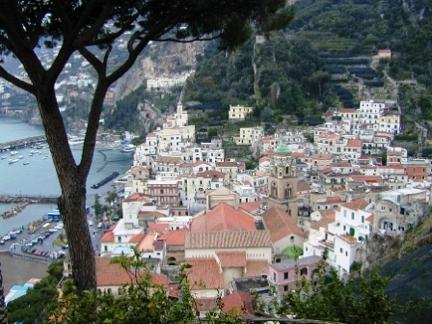 Amalfi Town and Harbor njcharters.com