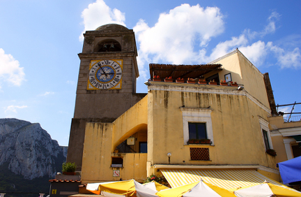 Clock Tower in Piazza Umberto I