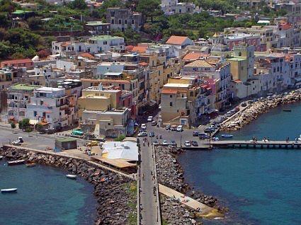 Ischia Port Town Italy njcharters.com