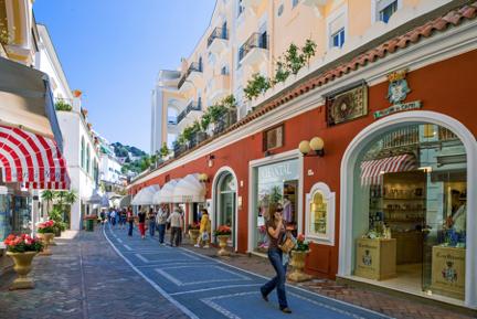 Shopping Street Capri Town Upper Level