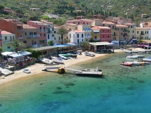 Giglio Island Harbor, Luxury Yacht Charter