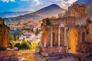 Taormina, Sicily,Italy, luxury yacht charter