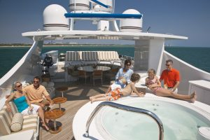 Family & Friend on Luxury yacht Charter