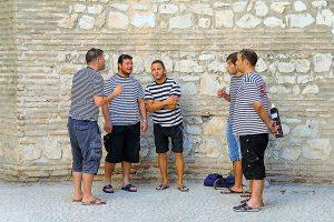 Croatian Men Klapa Singing
