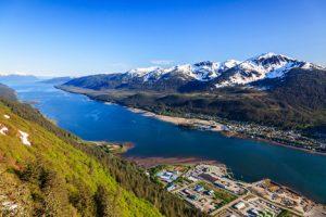 Juneau, Alaska Entrance by Sea njcharters.com