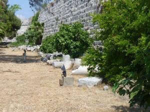 Kos Fortress Ruins njcharters.com