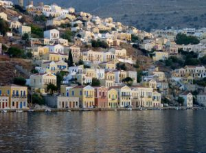 Symi Harbor on Symi Island, Greece njcharters.com