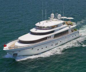 Diamond Girl 103 foot Johnson Motor Yacht njcharters.com