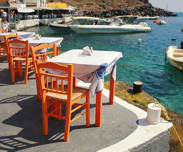 Folegandros Island Greek-Tavern Greece www.njcharters.com