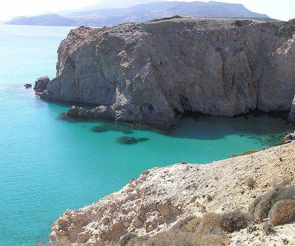 Milos Island Greece Turquoise Bay www.njcharters.com