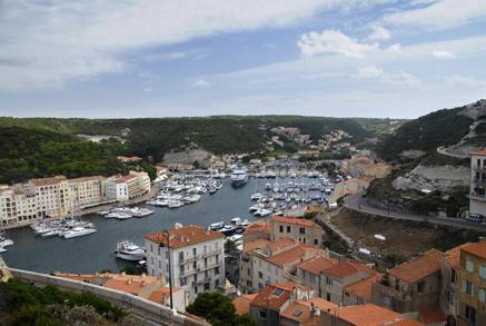 Bonifacio Harbor Corsica France njcharters.com