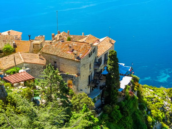 Eze Medieval Village French Riviera njcharters.com