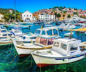 Hvar Island Town in Croatia njcharters.com