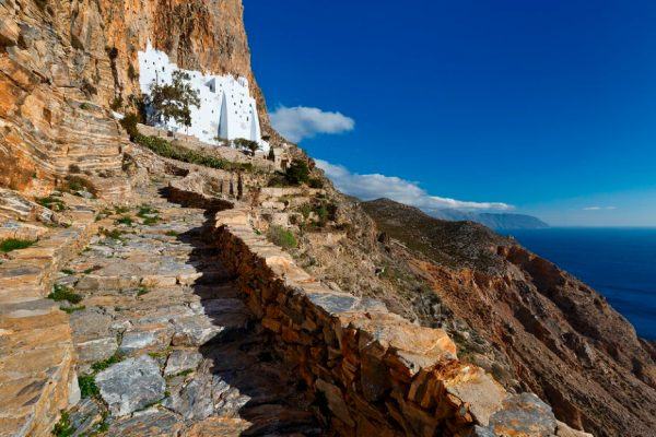 Monastery of Chozoviotissa Amorgos Island Greece njcharters.com