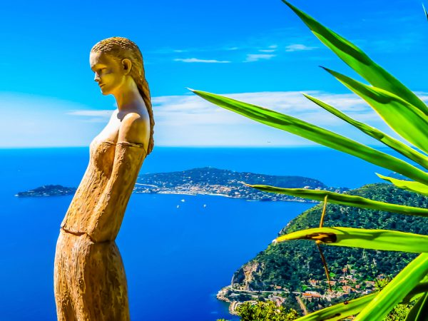 Sculpture in The Exotic Garden Eze French Riviera njcharters.com