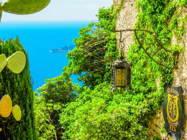 The Walls of Eze French Riviera njcharters.com