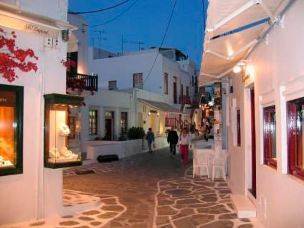 Walking Streets of Chora Amorgas Island Greece njcharters.com