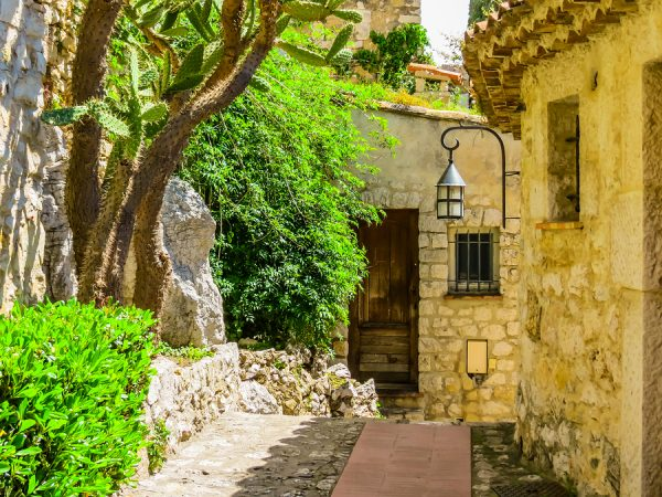 Walking Streets of Eze French Riviera njcharters.com
