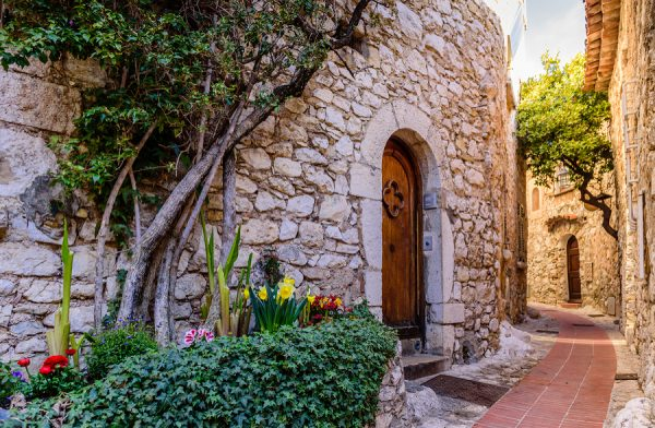 Within the Walls of Eze French Riviera njcharters.com