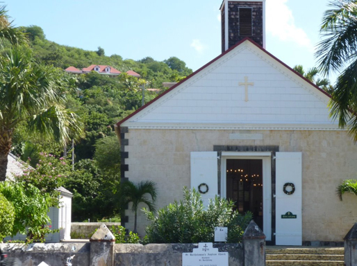 Gustavia Church St Barths njcharters.com