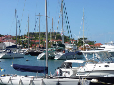 St. Barths Harbor and Fort Karl njcharters.com