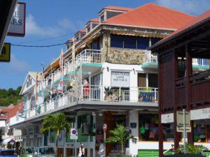 Streets of Gustavia St Barths njcharters.com