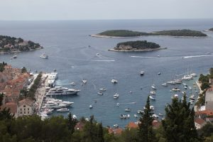 Hvar from above www.njcharters.com