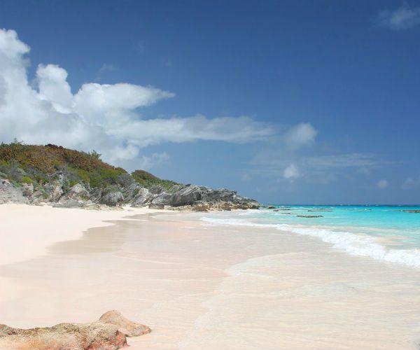Bahamas pink beach njcharters.com