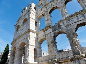 Croatia Pula Roman Arena Exterior Walls www.njchaters.com