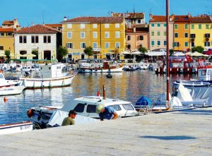 Croatia Rovinj Fishing Harbor www.njcharters.com