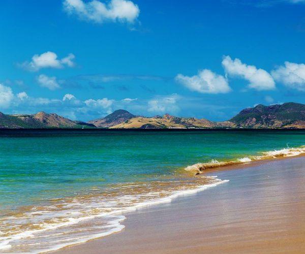Nevis island caribbean beach barbecue njcharters.com