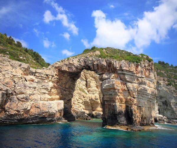 Anti Paxos Islet next to Paxos Island Greece www.njcharters.com