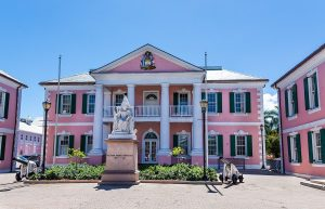 Government House Square, Nassau yacht charter