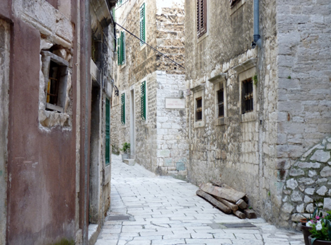 Sibenik Old Town Walking Streets