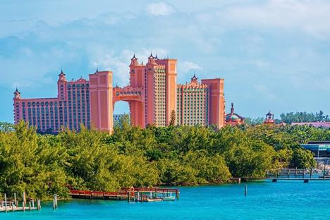 Atlantis Resort on Paradise Island Nassau njcharters.com