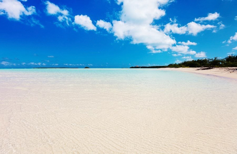 Beach on Great Exuma Island