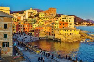 Boccadasse Genoa Italy njcharters.com