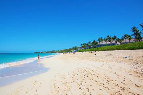 Cabbage Beach Nassau Bahamas njcharters.com