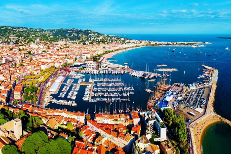 Cannes Harbor France njcharters.com