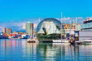 Genoa Harbor Italy njcharters.com