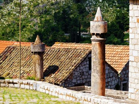 Lastovo Island Chimney Pots Croatia njcharters.com