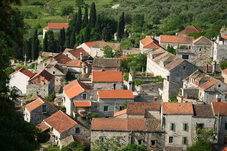 Lastovo Town Croatia njcharters.com