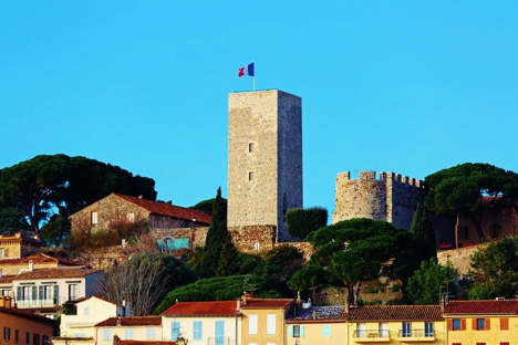 Le Suquet and Tower Cannes France njcharters.com