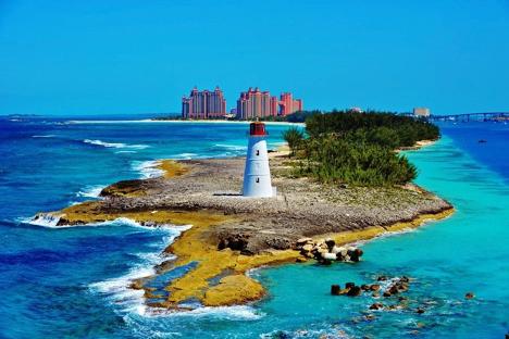 Nassau Lighthouse on Paradise Island Bahamas njcharters.com