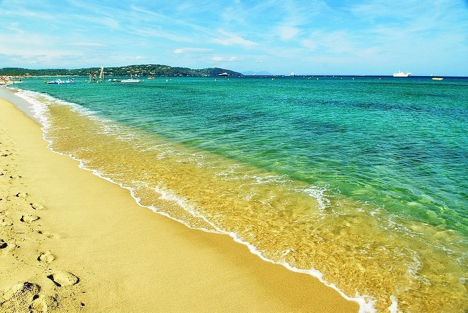 Pampelonne Beach St Tropez France njcharters.com
