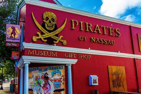 Pirates of Nassau Museum njcharters.com