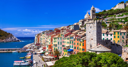 Portovenere Quay and Gate Italy njcharters.com
